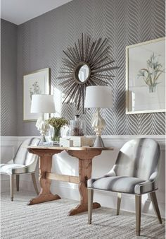 New for spring, the Dynasty collection of coordinating fabrics and wallpapers by Thibaut. Available now at DDA!