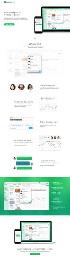 Workchat landing page / Travis Mccleery