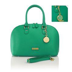 JOY & IMAN 21-Section Genuine Leather Handbag & Watch