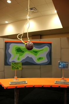 Love the map- VBS 2014 - Lifeway's AgencyD3 - MONITORS/SCREENS