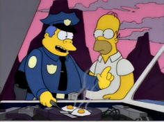 Quiet. I can't hear the eggs #thesimpsons #homer