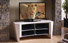 Alto TV Console Its eyepleasing curves and tapered lines are chic and distinctive, sure to impress your guests. Media Furniture, Console, Flat Screen, Curves, Tv, Chic, Blood Plasma, Shabby Chic, Flatscreen