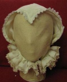 How To Wear an Elizabethan Coif. Follow the link.