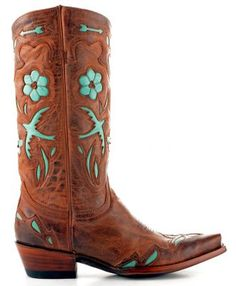 Old Gringo boots! I believe this will be my first pair.. Love Love Love Copy paste and e-mailed to the husband!
