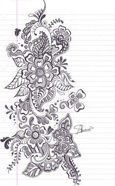 Mehndi Henna Tattoo Design Picture 4