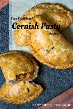 An easy Traditional Cornish Pasty Recipe - simple ingredients, big flavour! An easy Traditional Cornish Pasty Recipe - simple ingredients, big flavour! Sweet N Sour Pork Recipe, Vegan Pasty Recipe, Cornish Pasties Recipe Easy, Traditional Cornish Pasty Recipe, Pasty Recipe Michigan, Pastry Recipes, Gourmet, Recipes, Desserts