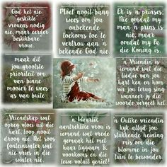 Afrikaanse Quotes, Goeie Nag, Quote Board, Happy Birthday Wishes, Lifestyle Changes, Life Tips, Good Morning Quotes, True Words, Friendship Quotes