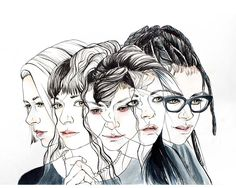 Orphan Black Season 4 Poster Contest - by Erin G.