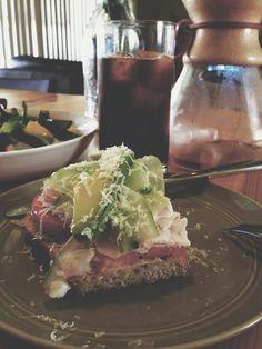 Eat & enjoy your life :: 터키 오픈 샌드위치와 망고 샐러드 Turkey open sandwich and mange salad