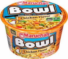 Maruchan Ramen Noodles Bowls $0.25 Off!
