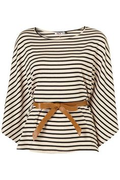 Belted batwing top from TopShop