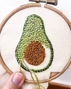 252 Likes, 0 Comments – Crochet, sewing, embroidery ( … - Stickerei Ideen Creative Embroidery, Hand Embroidery Stitches, Modern Embroidery, Embroidery Hoop Art, Crewel Embroidery, Hand Embroidery Designs, Embroidery Ideas, Beginner Embroidery, Embroidery Techniques
