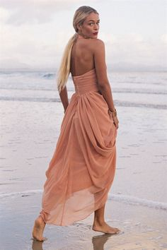 a6f758216e Saadian Gown - Earth - Dresses by Sabo Skirt