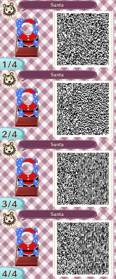 Animal Crossing QR Codes ❤ | ACNL QR: Christmas | Pinterest ...