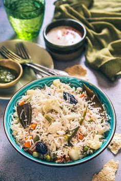 Veg Pulao is delicious medley of rice and vegetables. It is very simple and easy to make and pairs perfectly with any raita of your choice. #Indian #Rice #Recipe