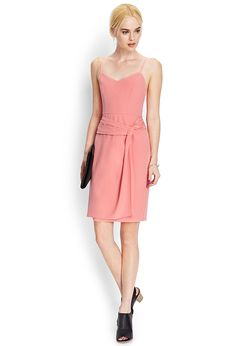 Draped Woven Cami Dress | FOREVER21 - 2000061267