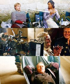 merlin cast behind the scenes