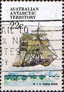 Australian Antarctic Territory 1979 Ships Terra Nova SG 44 V Fine Used Scott L44 Other Australian Antarctic Territory Stamps HERE
