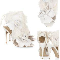 The Covet List: Valentino Floral-Embellished Heels