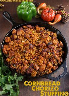 spicy cornbread chorizo stuffing spicy cornbread chorizo stuffing ...