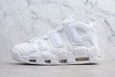 d322e82c089382 Authentic Nike Air More Uptempo Triple White Mens and Womens Size -  Nawomenshoes