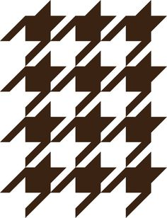 Houndstooth Wall Pattern