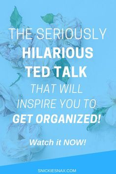 "Do you need to get organized and stop procrastinating in life? Tim Urban, author of the successful blog, ""Wait But Why,"" delivers a hilarious TED talk to illustrate the importance of making the most of your time while you have it. Check this out!"