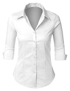 bc967c37052 New LE3NO Womens Plus Size Easy Care Work Office Formal Button Down Shirt  with Stretch Women fashion Tops.   24.04 - 29.89  topbrandsclothing offers  on top ...