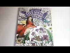 Midnight   Carovne Lahodnosti (Magical Delights) Coloring Book by Klara Markova - YouTube