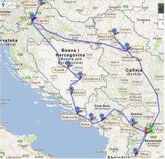 Balkanlarda Seyahat: Nereden nereye, kaç saate, kaç liraya.. | Makedonya | Avrupa | Kendingez.com gezginlerin ve seyahat severlerin buluşma platformu.