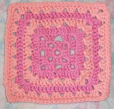 Granny Square Patterns | AllFreeCrochetAfghanPatterns.com