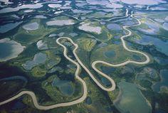 Mackenzie River Delta, Canada