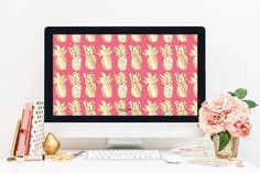 Jessica Marie Design Blog: Dress your tech: Pineapples!