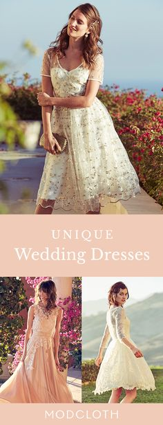 Say 'I do' in style! Your dream wedding dress awaits at ModCloth. Shop bridal styles under $300 in sizes XXS-4X.