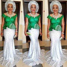Mercy Aigbe-Gentry Keeps it Hot and Classy in Gorgeous Aso-Ebi Style - Wedding Digest NaijaWedding Digest Naija