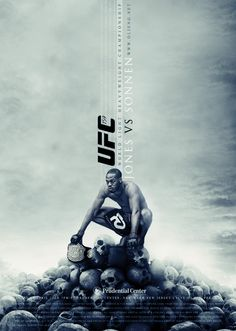 Fan made UFC poster Jon Jones