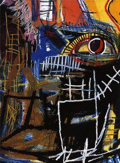 Head - Jean-Michel Basquiat - WikiPaintings.org