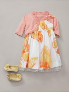 Watercolor Ensemble from Baby Gap