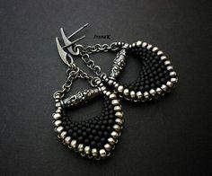 Blooming Night III. by IrenaK - SAShE.sk - Handmade Earrings