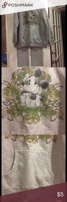 1X hooded Mickeymouse unisex sweatshirt 1X Disney unisex Hoodlad Mickeymouse sweatshirt good condition Disney Jackets & Coats