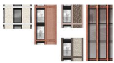 one of our recent  facade studies for new residential project