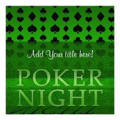 Sold: Poker Night Invitation Invitation Card Design, Invitation Cards, Invitations, Poker Run, Poker Night, Paper Texture, Smudging, Ads, Graphic Design