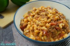 One of my favorite recipes! A yummy goulash!