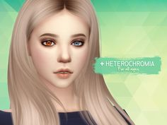 Eyes #15**Update 04.02.2017** Added heterochromia option. The facepaint option has been updated to remove the shine, when you're using them with defaults/non defaults that have a specular map. • 18...