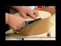 Mulher.com 01/07/2014 - Maleta Oval Cartonagem por Ana Paula Viegas - Parte 1 - YouTube