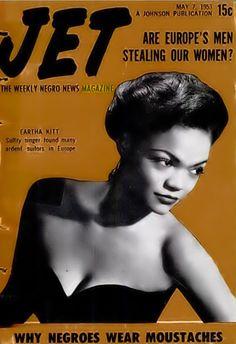 The Lovely Eartha Kitt - Jet Magazine, May 7, 1953