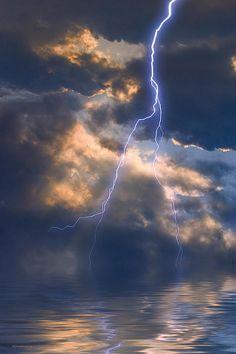.Storm at the sea. So beautiful