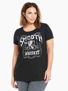 Whiskey Slub Knit Tee, , alternate