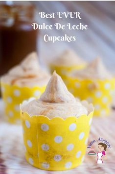 Here is the best recipe you will find for dulce de leche cupcakes, these are filled with dulce de leche and topped with more dulce de leche buttercream making it the ultimate dulce de leche cupcakes. Whether you use homemade or store-bought dulce de leche these are simple and easy to make. #dulce #deleche #dulcedeleche #caramel #cupcakes #recipe