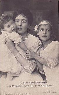 Kronprinzessin Margareta von Schweden mit Karl Johann und Ingrid | Flickr - Photo Sharing!